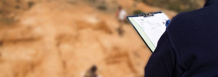 Trabajos de excavación y documentación de yacimiento arqueológico
