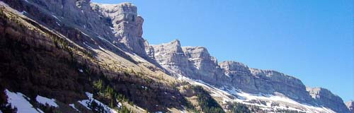 Farallones del valle de Ordesa (Huesca)