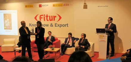 Entrega de premios en FITUR .- The APP Tourism Awards