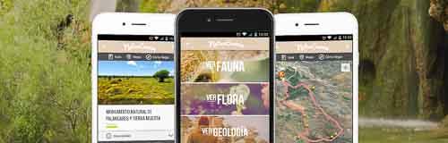 Aplicación para dispositivos móviles sobre naturaleza