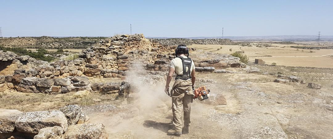Conservación de yacimientos de la Ruta de los Íberos en el Bajo Aragón