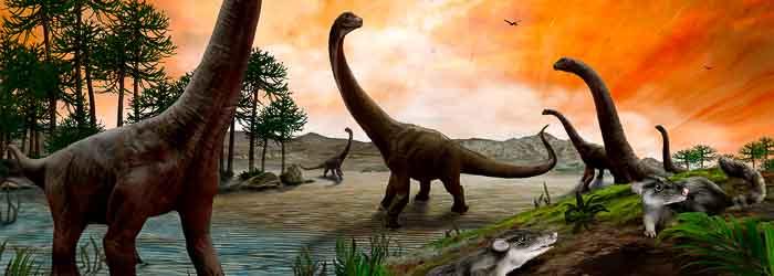 Dinosaurios saurópodos