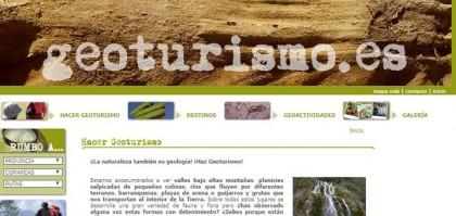 portada de geoturismo pagina web