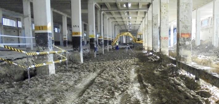 Paleoymas concluye el control arqueológico en las obras del Mercado de Legazpi