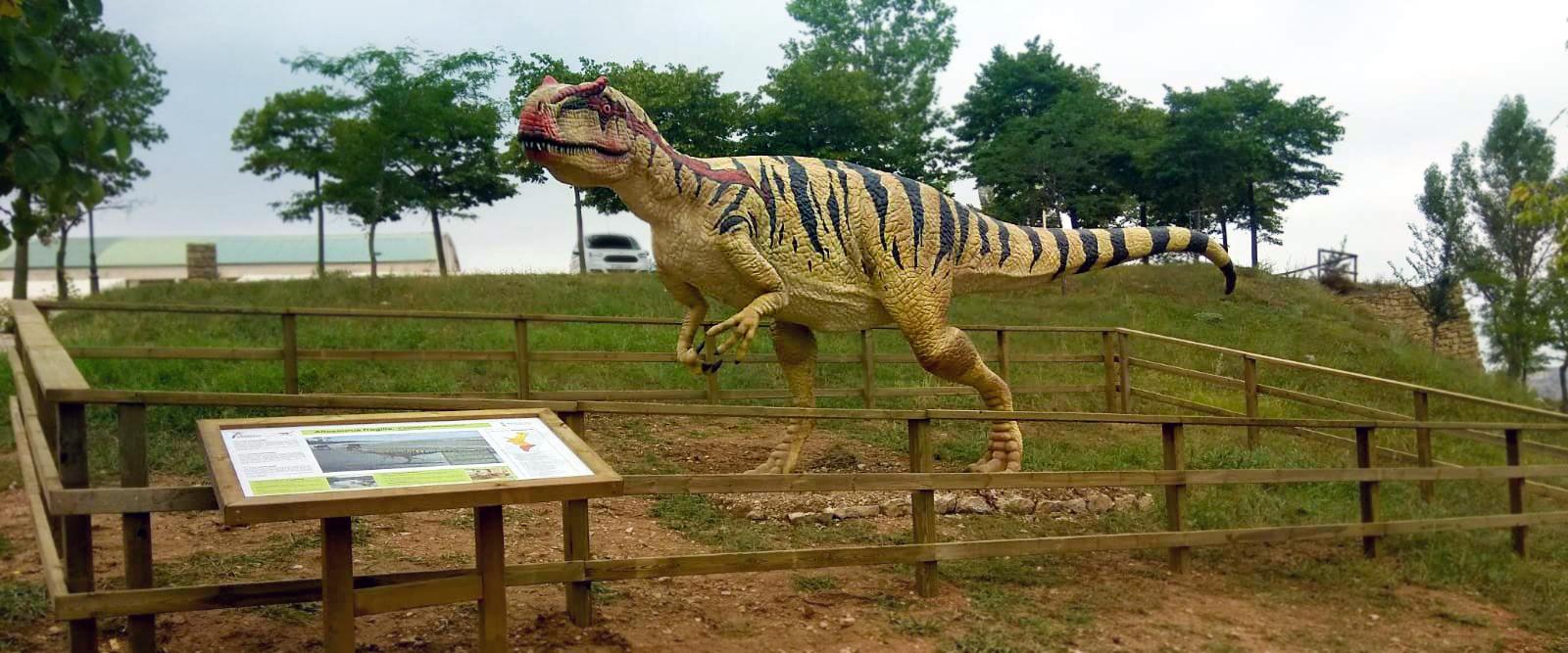 Reproducciones de dinosaurios en la Comunitat Valenciana