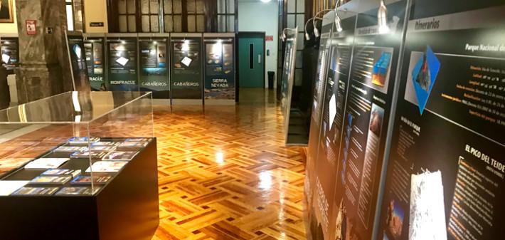 """Se inaugura la exposición """"La Geología de los Parques Nacionales"""""""