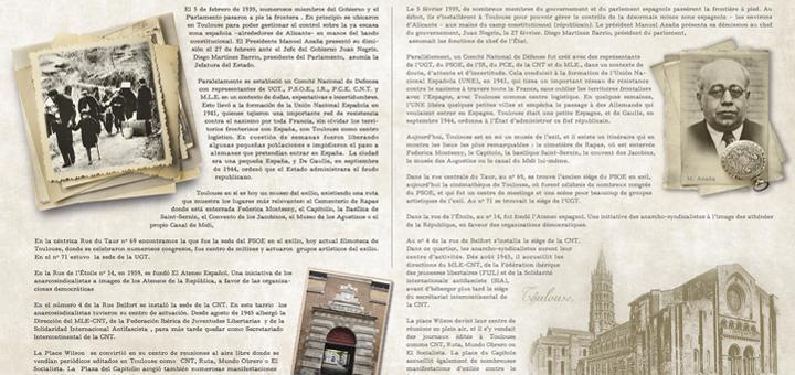 Se inaugura en Francia, La Retirada, sobre la Guerra Civil