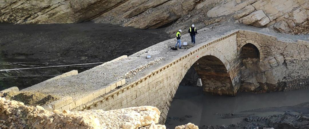 Asistencia arqueológica en las obras del embalse de Santolea